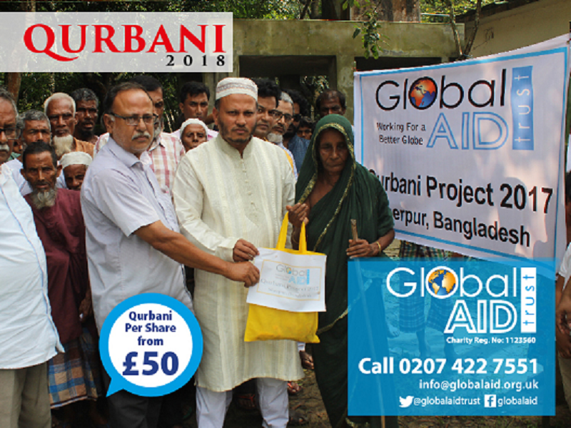 Qurbani 2018 – Global Aid Trust