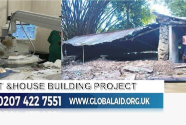 Eye Cataract and House Building Project